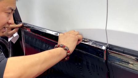 本田后门板贴隐形车衣老师精细讲解步骤 初学者教程