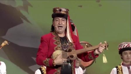 冬不拉弹唱 帕米尔洒满金色的阳光 中央民族歌舞团