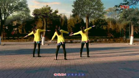 云裳广场舞《马背上的萨日朗》原创蒙古健身舞