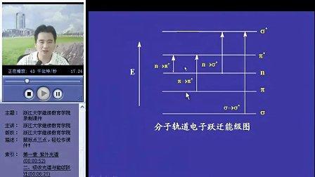 浙江大学 波谱分析 32讲 全套Q896730850