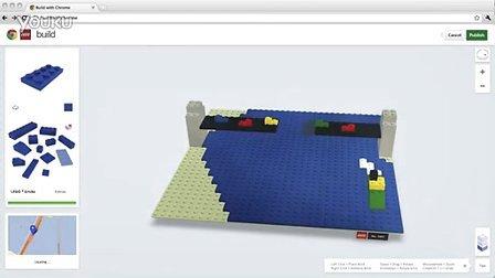 乐高Google合作推在线版Lego玩具