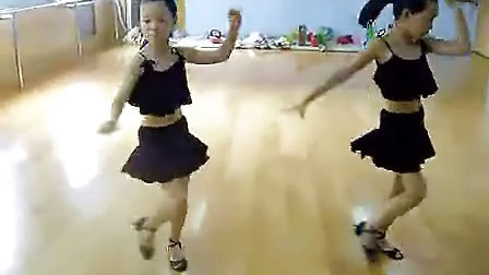 杨娅姣课堂少儿拉丁舞恰恰伦巴单人组合
