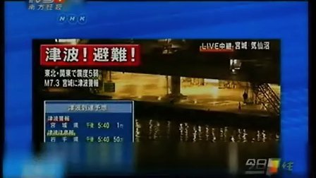 """今夜最新:日本地震-日本发生7.3级地震 震中与""""311""""大地震相近 20121207 今日一线"""