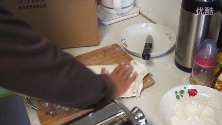 出口欧美★墅乐QM17流线型面条机 压面机操作视频-【方寸国际实拍】