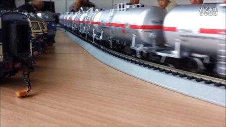 上局沪段火车模型乐园QQ群12月8日运转会剪影
