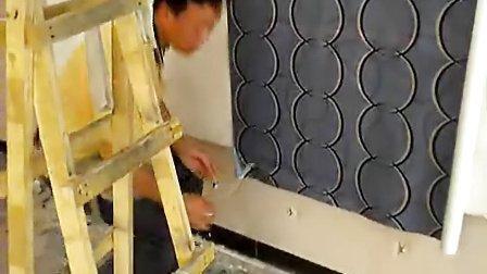壁纸施工 铺贴墙纸 壁纸装饰教程 凯美蒂墙纸