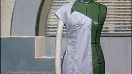 自学服装设计教程 服装设计基础教程 服装立体裁剪讲座4