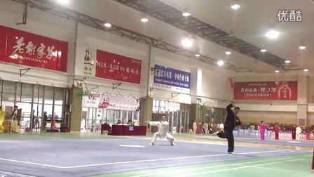 第五届世界传统武术锦标赛郝建华《龙形太极长穗剑》荣获个人季军