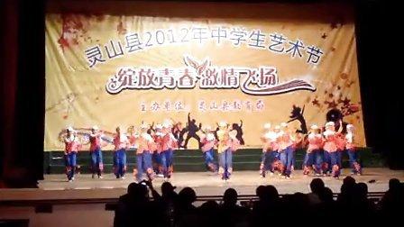 广西灵山中学 艺术节 花儿漫漫