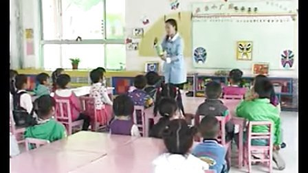 大班美工《美丽七彩秀》幼儿园公开课 DMS005