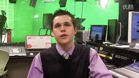 肯特州立大学传播与信息学院——我们自己的电视台TV2