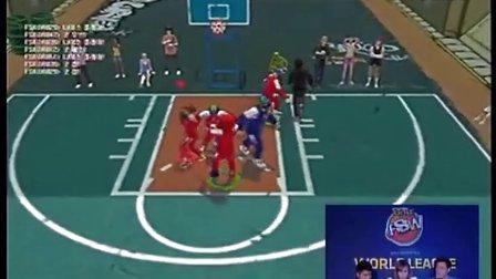 2012街头篮球世界杯韩国1队-韩国2队(1)