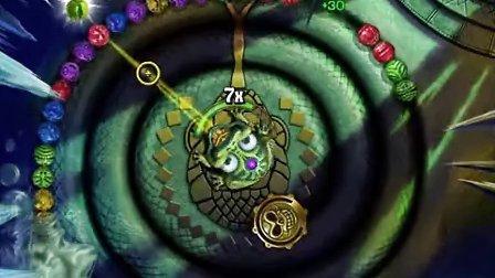 祖玛的复仇【挑战模式】铁青蛙第一关