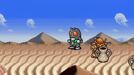 SFC『ザ グレイトバトルII ラストファイターツイン』火星編~ハード