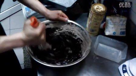 布朗尼brownie巧克力核桃蛋糕 曾令创