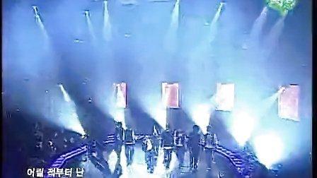 051119 Super Junior Twins 现场(韩庚首次戴面具)