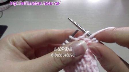 魅力线线——阿尔巴尼亚针的织法