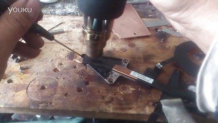 戴尔3070模组拆卸导热板