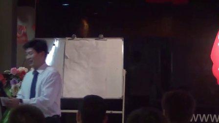 疯狂演说讲师班开班仪式主持人:李乐峰