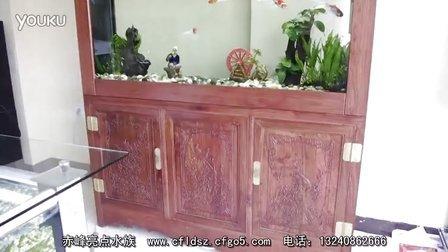 非洲花梨木 160x36x180cm  赤峰亮点水族