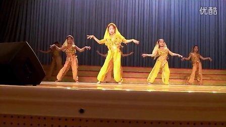 快乐的跳吧_儿童版 印度舞 舞蹈教学 完整版
