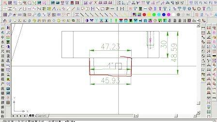 模具培训之CAD拆散件图3