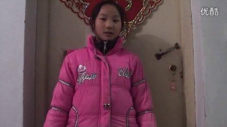 【拍客】11岁六年级女孩末日最想和妈妈在一起