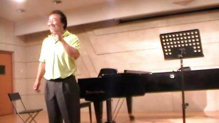 国际声乐大师班王景彬 -歌剧的特点 声部的划分