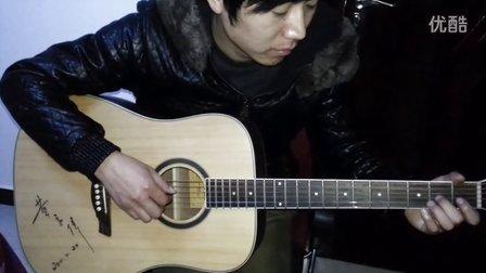 生日快乐单音旋律教学(吉他天地)