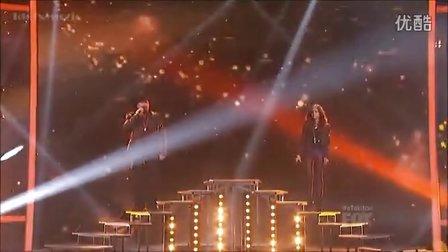 Carly Rose Sonenclar  Tate Stevens Duet  X Factor USA