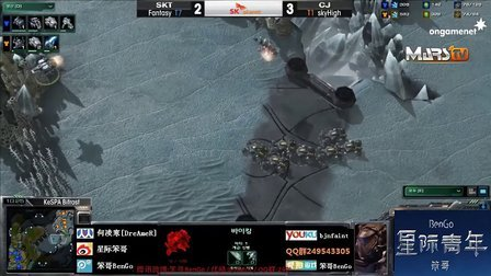 12.22SPL-SKT.Fantasy vs CJ.SkyHigh TvT BenGo解说