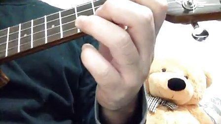 尤克里里的捶弦與勾弦練習!