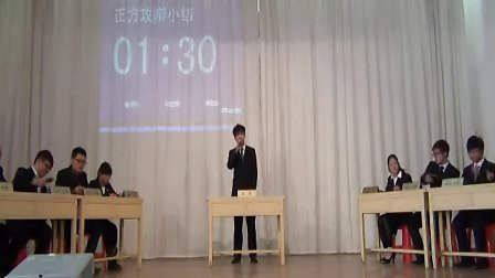 2012江阴学院化纺系辩论赛-大学生兼职的利与弊