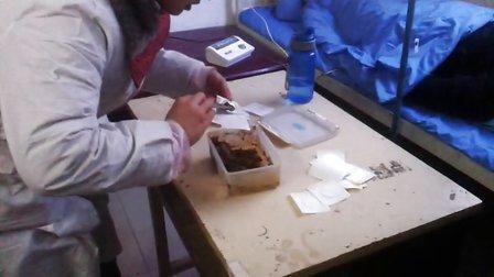 2012年12月23日郑州中牟长太直肠滴灌中药外贴门诊视频