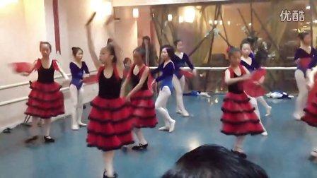 杭州少儿芭蕾培训西班牙舞蹈 皇室艺术芭蕾学校