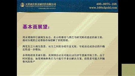 鑫沣贵金属分析师——曲声悦《鑫方向内参解析》20121224