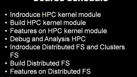 高级Linux内核工程师