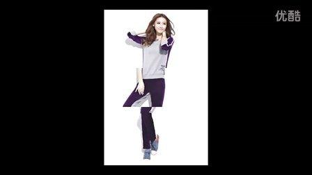 2013年春季服装新品发布(卫衣运动服韩版套装女士休闲装)