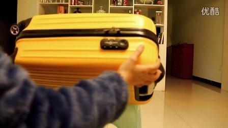 DK行李箱如何设置密码