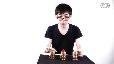 CMC 铜质三杯球(Cups and Balls) By 郭皓炜