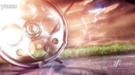 Y I Y K为 一路阳光电影 创意设计厂标演绎动画