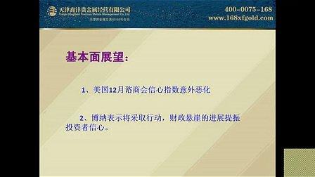 鑫沣贵金属分析师——曲声悦《鑫方向内参解析》20121228