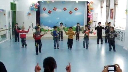 儿童甩葱歌舞蹈