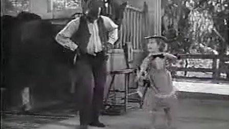 【电影】美国踢踏舞前辈比尔·罗宾森与秀兰·邓波儿-小上校-仓库舞