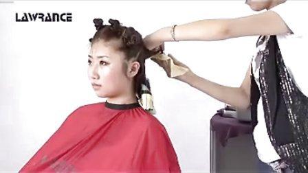 时尚美发造型 流行剪发教程 纹理烫发视频