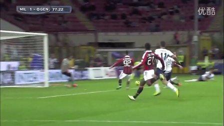 [AC米兰] 沙拉维 Every Goal This Season 2012-13 Serie A