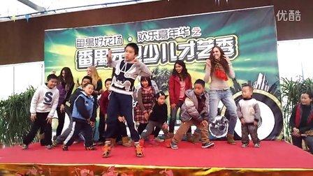 【江南style 最佳集体舞】之番禺少儿&老外版--群魔乱舞!!