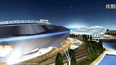 大连体育场规划