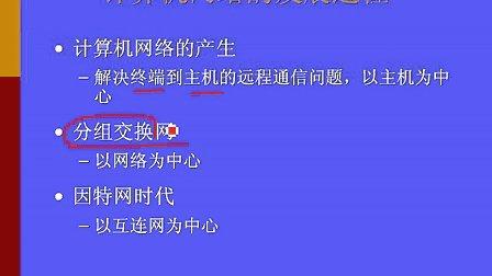 浙江大学 通讯与计算机网络 32讲 全套Q896730850 视频下载
