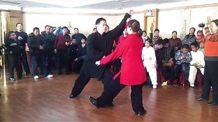丁明业 吴小杰太极推手演练